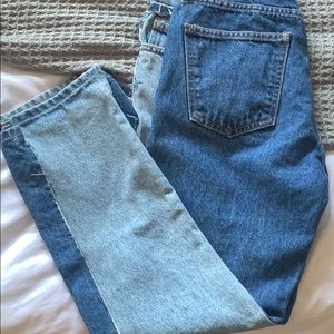 Current / Elliot Two-Tone jeans